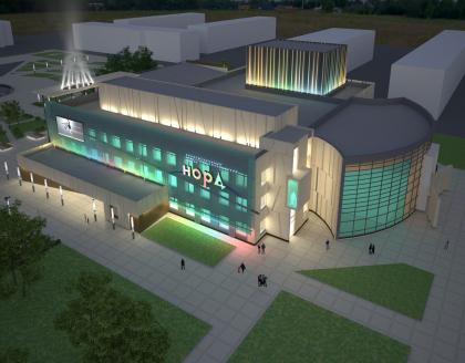 Реконструкция здания ИКТЦ «НОРД»