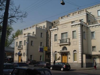 Бизнес-парк «Легион» на Ордынке, д. 40. Входной корпус