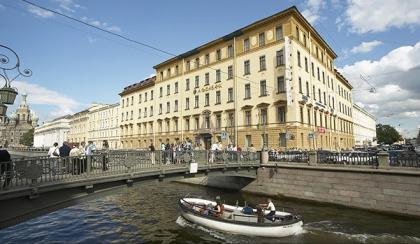 Реконструкция здания на набережной канала Грибоедова