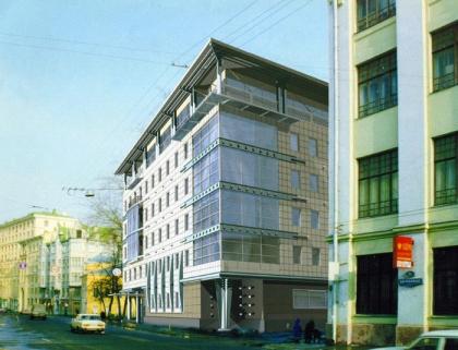 Административное здание на Пятницкой улице