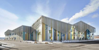 Образовательный центр в районе Каласатама