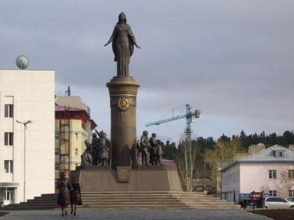 Композиция «Вся Югра» в Ханты-Мансийске