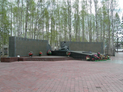 Парк Победы в Ханты-Мансийске