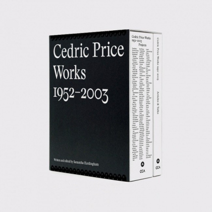 Cedric Price Works 1952–2003: a forward-minded retrospective