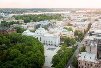 Реконструкция Латвийского национального художественного музея