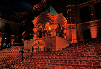 «Геликон-опера» (бывшая городская усадьба Стрешневых-Глебовых-Шаховских) после реставрации