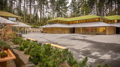 Портлендский японский сад – проект расширения