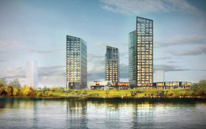 Концепция жилого комплекса в Туле