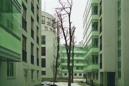 Residential complex, Ostozhenka street