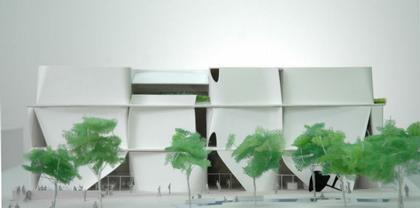 Музей искусств Беркли и Киноархив Пэсифик - проект Т. Ито
