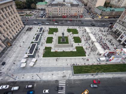 Благоустройство Триумфальной площади
