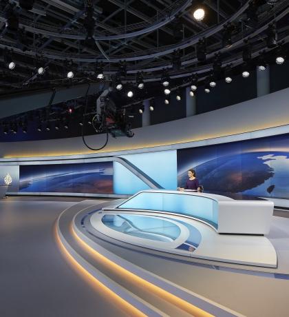 Штаб-квартира телекомпании «Аль-Джазира»