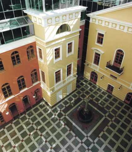 Office-commercial centre Atrium on Nevsky, 25