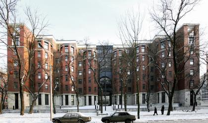 Residential building in Krestyansky pereulok, 3