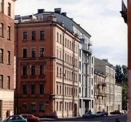 Residential building, Konnaya street, 24