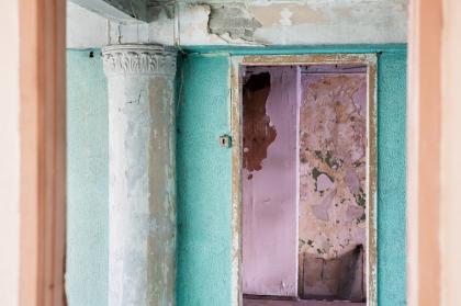 Первые находки и потери. Как проходит реставрация коммунального корпуса Дома Наркомфина