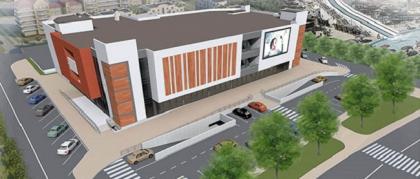 Торговый центр по ул. Лазарева