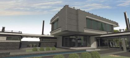 Индивидуальный жилой дом в Уфе