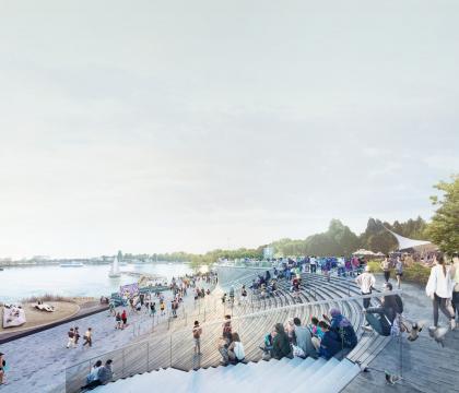 Эскизный проект территории парка им. С.М. Кирова в Ижевске