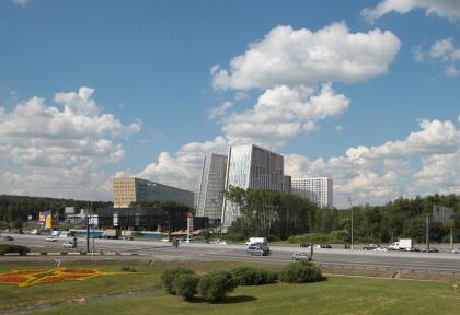 Гостинично-деловой комплекс на Рублево-Успенском шоссе