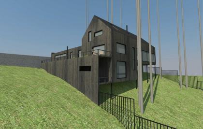Малоэтажный жилой дом в коттеджном поселке «Европейский»