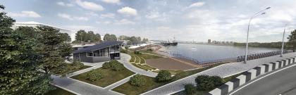 Проект реабилитации набережной в городе Иркутске