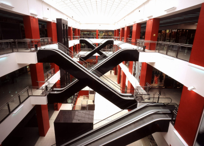 "Retail and entertainment centre ""Pyataya avenu"" [the fifth avenue]"