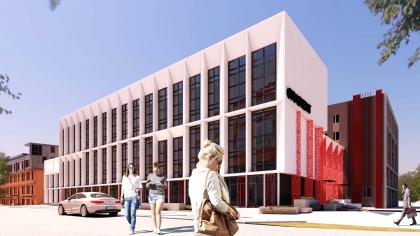 Административно-офисное здание на Пошехонском шоссе. Корпус А