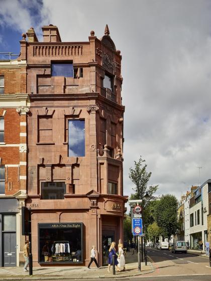 Многоквартирный дом с магазином 168 Upper Street
