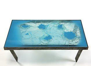Aviad Gil. Bulletproof Table