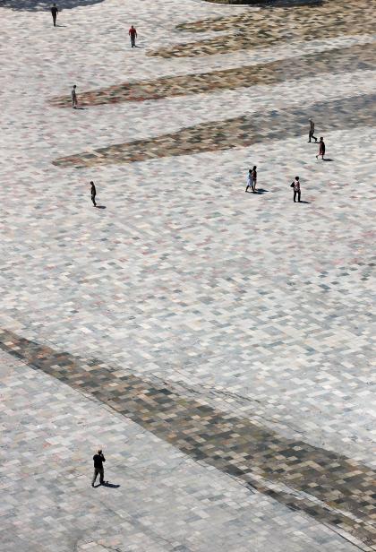 Площадь Скандербега – реконструкция
