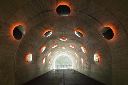 Тоннель у ущелья Киёцу – реконструкция