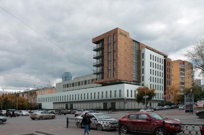 Гостиница на площади Советской Армии