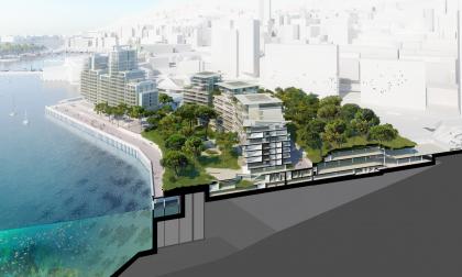 Монако – расширение береговой линии