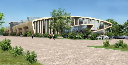 Многофункциональный спортивно-выставочный центр в Лужниках
