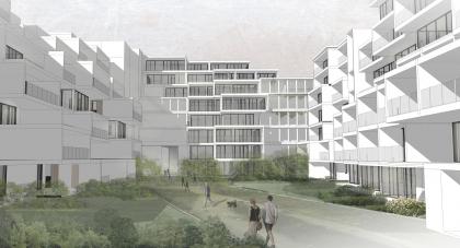 Эскизный проект курортного комплекса в Геленджике