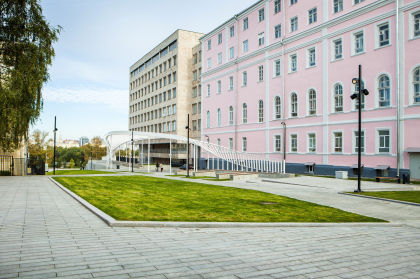 Новый вход в парк Горького со стороны Ленинского проспекта