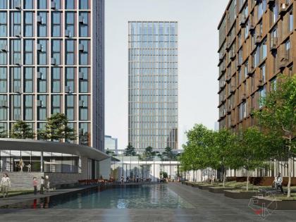 Архитектурная концепция многофункционального жилого комплекса в Сетуньском проезде