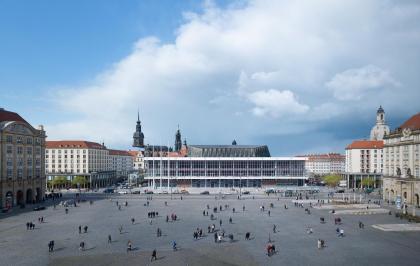 Дворец культуры в Дрездене – реконструкция