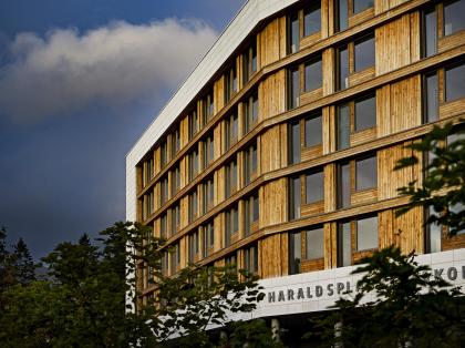 Больница Харальдспласс – новое крыло