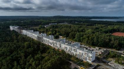 Курортный комплекс Прора на острове Рюген