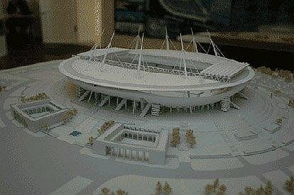 Стадион «Зенит» на Крестовском острове