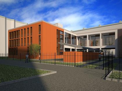 Реконструкции с расширением детского сада на улице Б. Грузинская