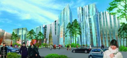 Многофункциональный комплекс в Сургуте