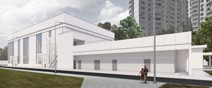 Реконструкция здания на стадионе «Труд»