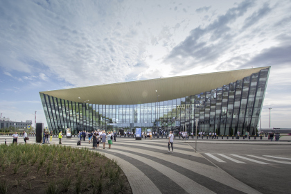 "Concept for the passenger terminal of ""Central"" Airport in the city of Saratov"