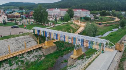 Набережная реки Нурминка