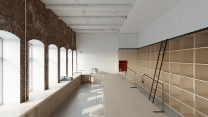 Творческая мастерская в историческом здании