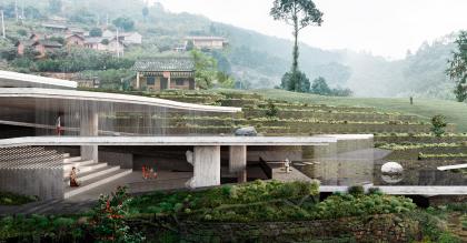 Концепция музея Xingfu village Pan-Museum