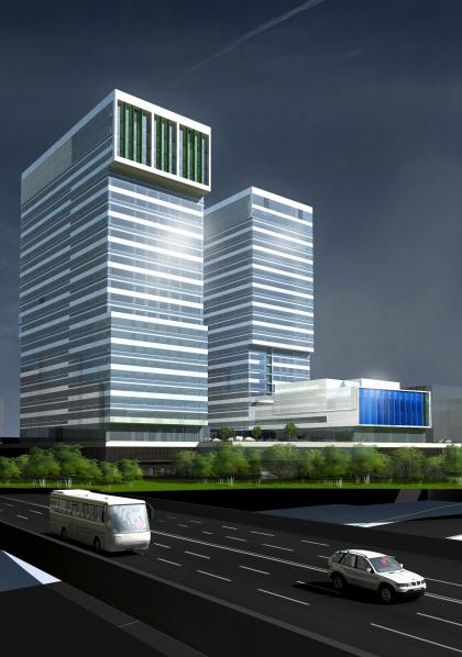 Многофункциональный административно-деловой центр, Причальный проезд